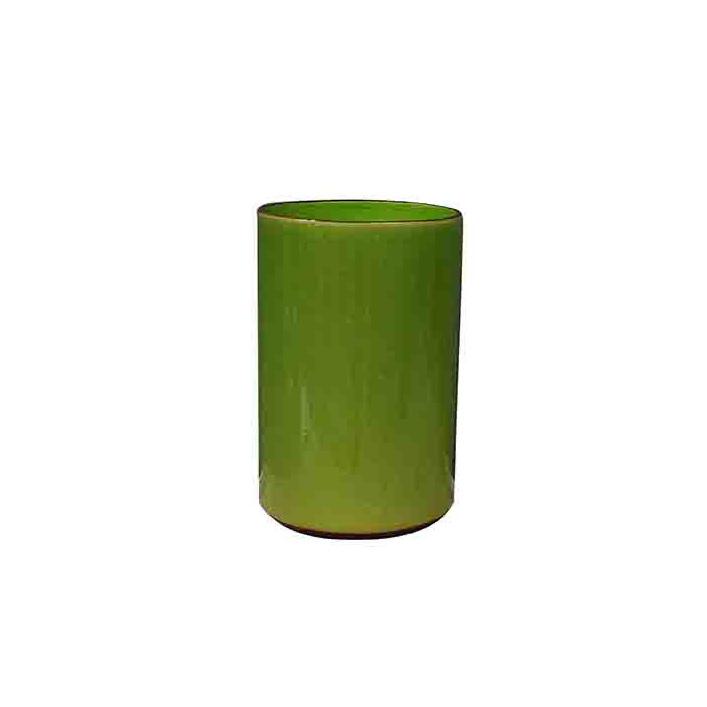 vegas cylinder vase lime large