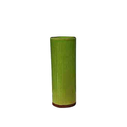 vegas cylinder vase lime medium