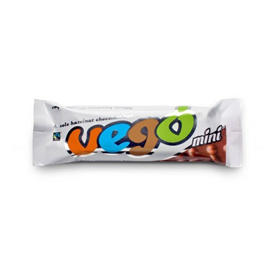 Vego hazelnut chocolate bar 65g