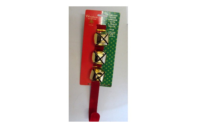 Velvet Christmas Wreath Hanger Kingfisher Gifts Party Xmas