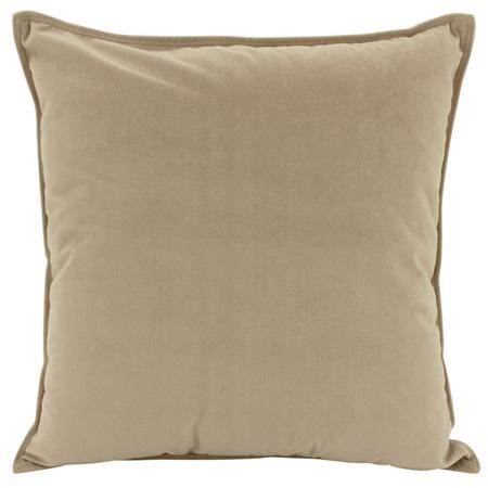 Velvet Cushion Fawn 55x55cm