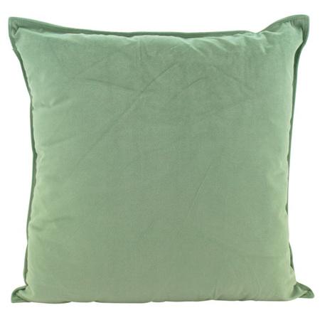 Velvet Cushion Sage 55x55cm