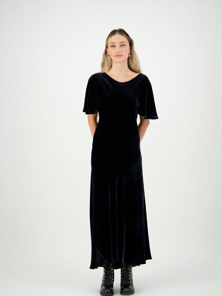 Velvet Tea Dress