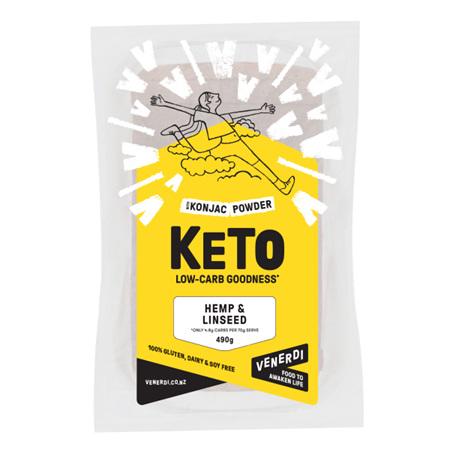 Venerdi Keto Hemp & Linseed Bread - 490g