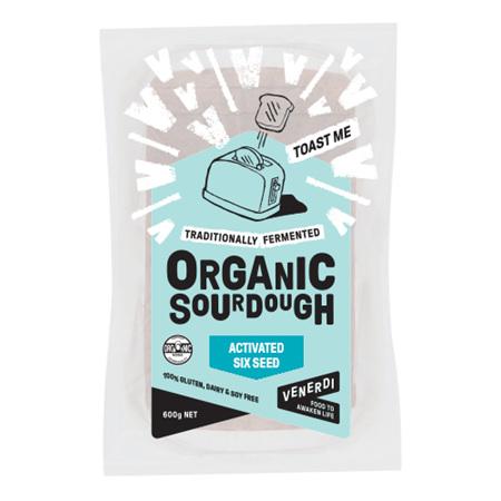 Venerdi Organic Sourdough Six Seed 600g