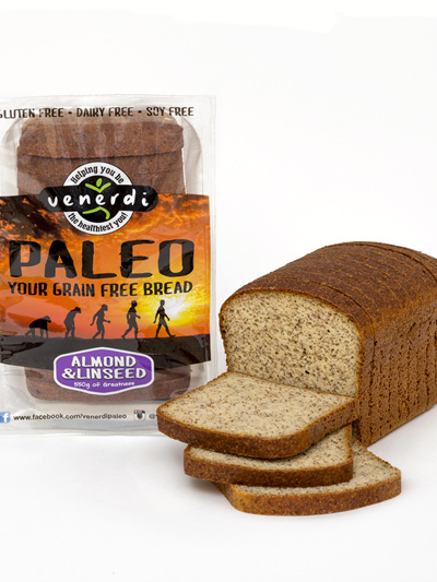 Venerdi Paleo Bread Almond & Linseed  550g