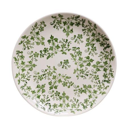 Verde Florentine Handpainted Plate