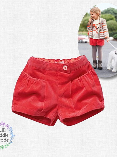 Vertbaudet Red Valvet winter shorts