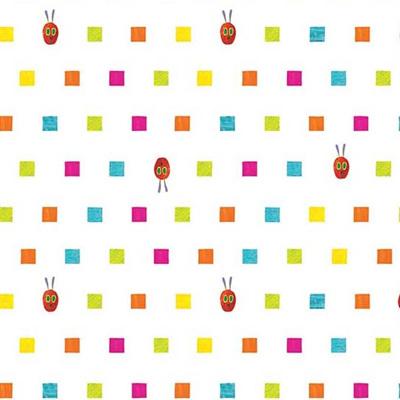 Very Hungry Caterpillar ABCs  -  Caterpillar Squares