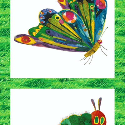 Very Hungry Caterpillar - Metamorphosis panel