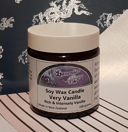 Very Vanilla Soy Wax Candle