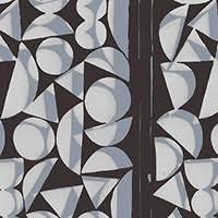 Vestige Shapes Charcoal PWBM001