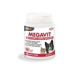 VetIQ Megavit - Multivitamin for Cats & Dogs