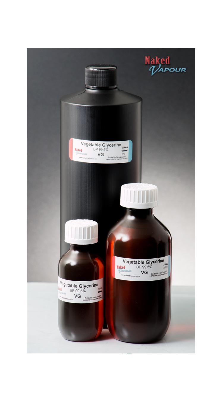 VG bottle sizes