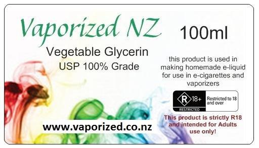 VG - Vegetable Glycerin