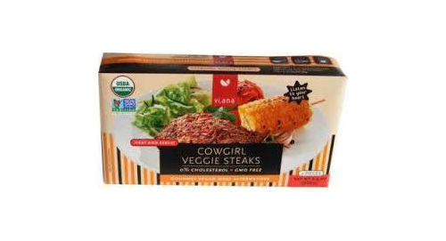 Viana Cowgirl Veggie Steaks