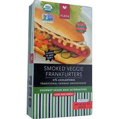 Viana Smoked Veggie Frankfurters