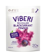 Viberi Organic Blackcurrant Powder 200g