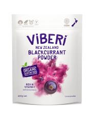 Viberi Organic Blackcurrant Powder 450g