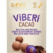 Viberi Organic Blackcurrants  Cacao 90g