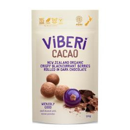 Viberi Organic Blackcurrants  Cacao 90g