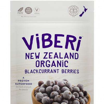 Viberi Organic Blackcurrants Frozen 1kg