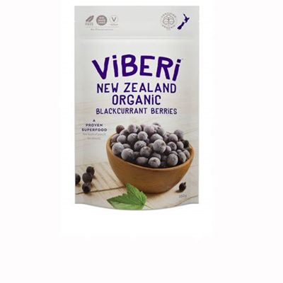 Viberi Organic Blackcurrants Frozen 1kg