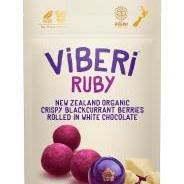 Viberi Organic Blackcurrants Ruby 90g