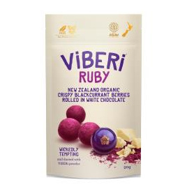 Viberi Organic Blackcurrants Ruby 90g
