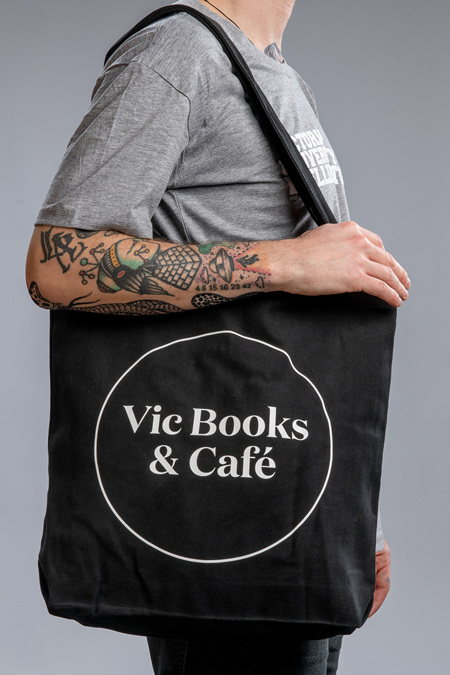 Vic Books & Cafe Tote Bag