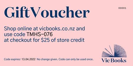 Vic Books E-Gift Voucher