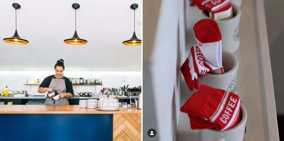 Vic Books Pipitea; Coffee Supreme Barista Socks