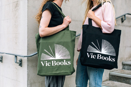 Vic Books - strong tote