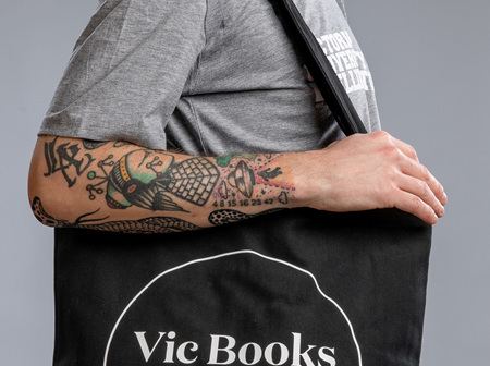 Vic Books Tote Bag