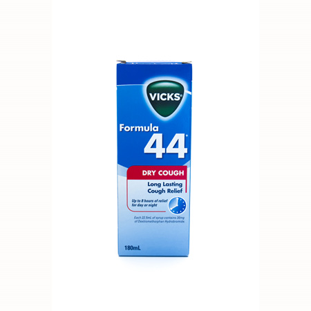 Vicks Formula 44 Dry Cough
