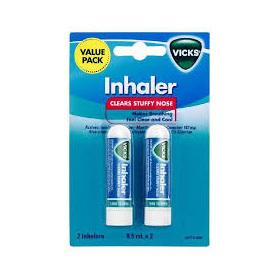 Vicks Inhaler SINGLE 0.5ML Twin PACK