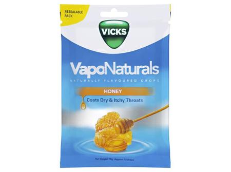 VICKS VAPONATURALS HONEY 19'S