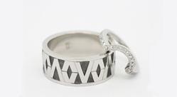 Victor Vito & Amber Dallas: Polynesian Tapa Pattern Inspired Ring
