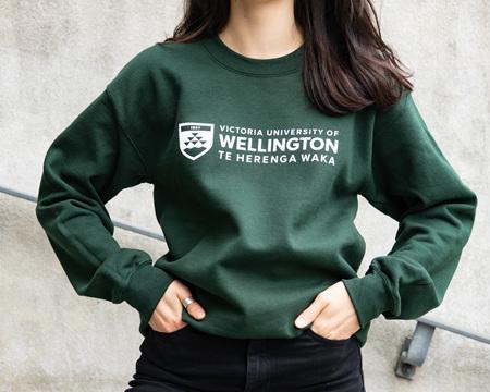 Victoria University of Wellington Crew - green