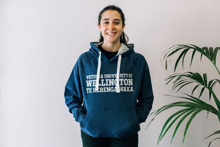 Victoria University of Wellington Hoodie - blue