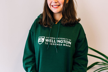 Victoria University of Wellington Hoodie - green