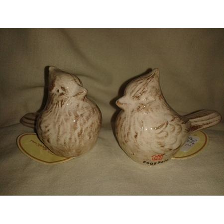 Victorian Bird Salt & Pepper