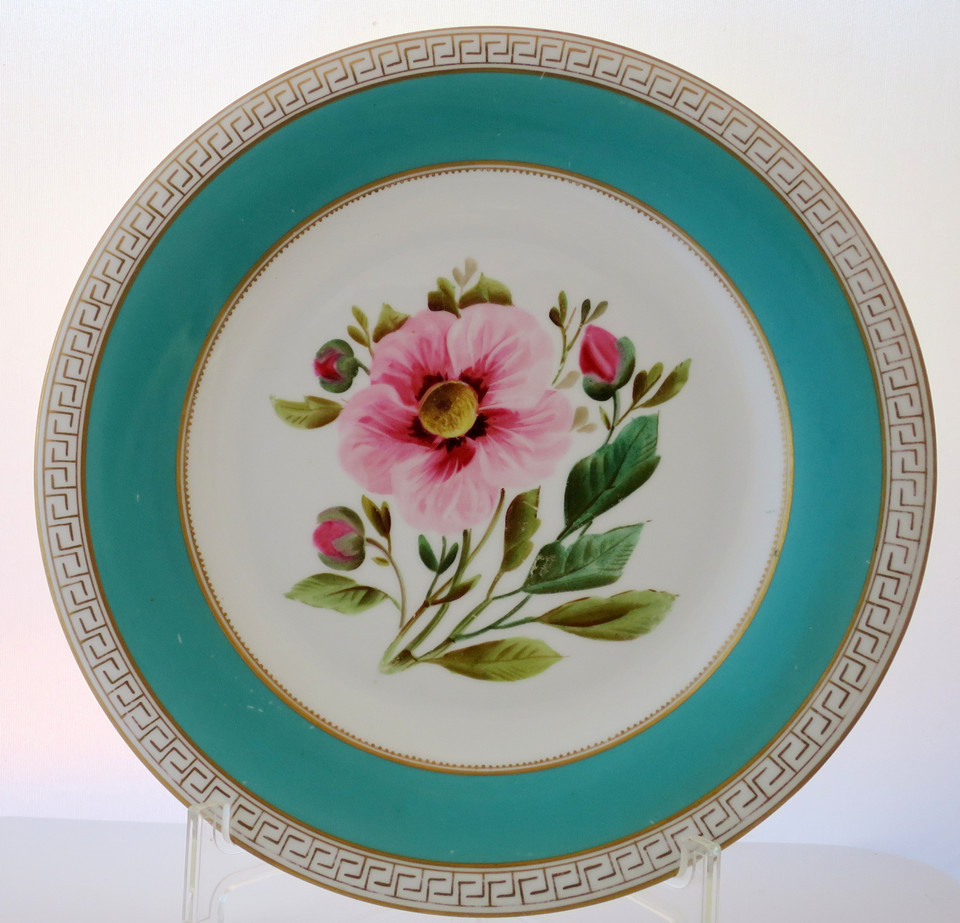Hand Painted Plates : Victorian hand painted plates vintage treasure