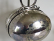 Victorian silver plate  folding muffin dish