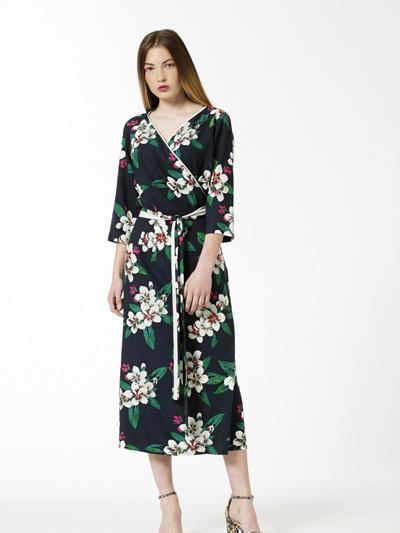Villa Wrap Dress