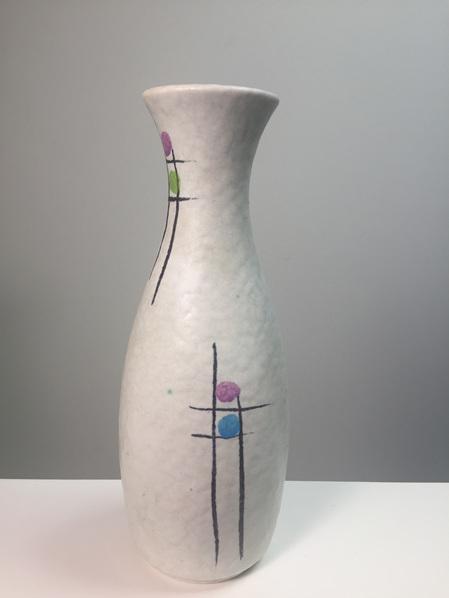Vintage 1950s West German Vase