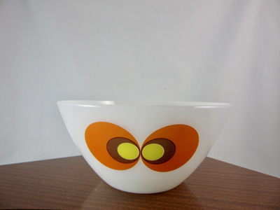 Vintage 60s German Design Jena Glass Bowl by Schott Mainz 17cm