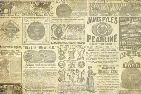 Vintage Aids Royce Decoupage Paper