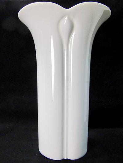 Vintage Arzberg Corso White Porcelain Vase