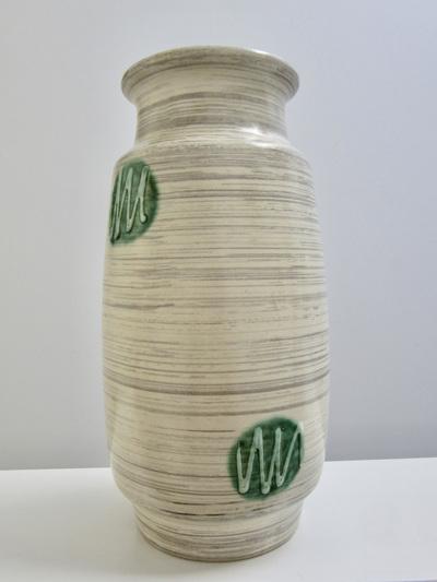 Vintage Atomic Era West German Pottery Vase